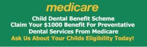 Medicare Child Dental Scheme