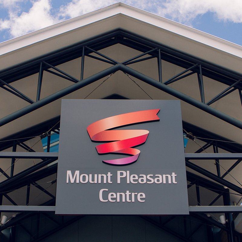 Mount Pleasant Centre Signage